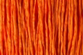 1 Meter Seidenband, Seidenschnur, 2 mm,  orange