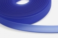 1 Meter Flaches PVC-Band, 10 x 2 mm, azurblau