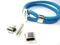 Metallperle Stern Slider für 10 mm breites Band vergoldet; G147