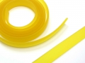 1 Meter Flaches PVC-Band, 10 x 2 mm, gelb