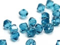 20 Swarovski Elements, bicone, 4 mm, indicolite